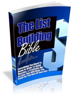 The List Building Bible
