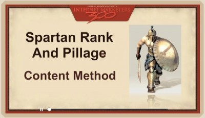 300 internet marketers spartan rank and pillage