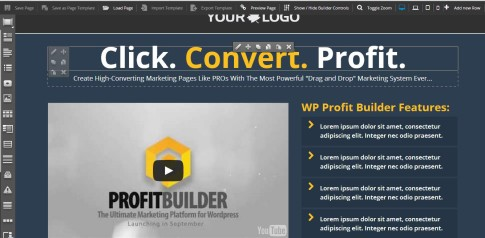 wp profit builder demo
