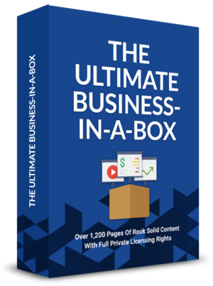 The Ultimate Business-In-A-Box