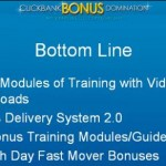 Clickbank Bonus Domination – Everything Revealed Video