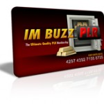 IM Buzz PLR – Turnkey PLR Membership ($1 Trial)
