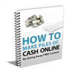 AffiloJetpack – How To Make Piles Of Cash Online [FREE Report]