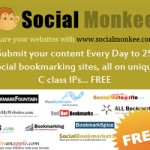Social Monkee – Get 25 Free Backlinks Every Day