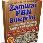 Dominate Google with Zamurai Private Blog Network (PBN) Blueprint