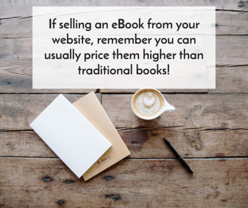 5 Reasons to Write & Sell an E-Book from Your Website