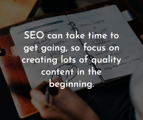 seo focus on quality content