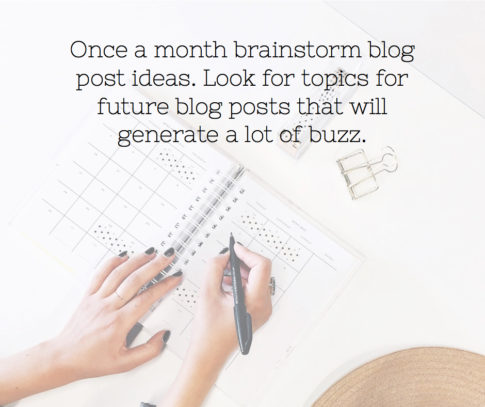 How to Brainstorm Ideas for Your Blog