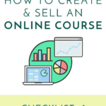 How to Create and Sell an Online Course – Checklist